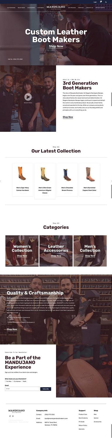 Mandujano Bootmakers