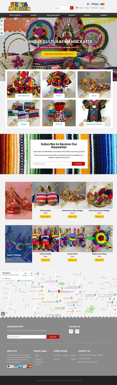 Fiesta McAllen | Web Design